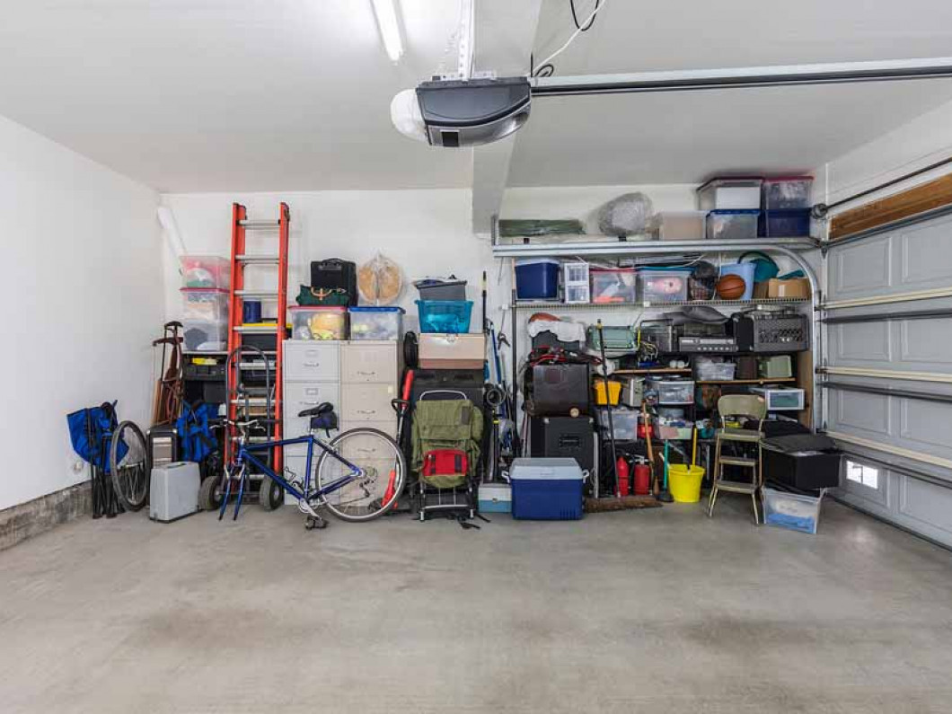 Imagine what you could do with a cleaned-out garage